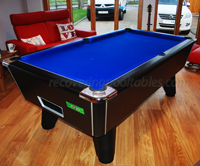 Black Winner Pool Table