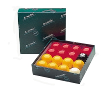 Aramith Premier Red & Yellow Balls