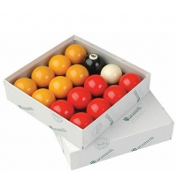 "Aramith Standard 2"" Red & Yellow Balls"