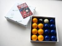 "Aramith Standard 2"" Blue & Yellow Balls"