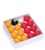 "Economy 2"" Red & Yellow Balls"